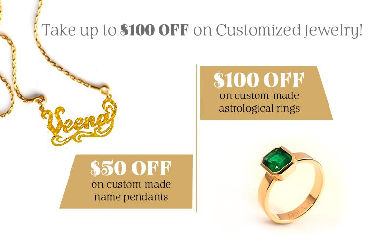 Customized Jewelry Promotion Mobile